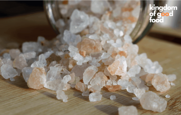 Himalayan Rock Salt Granules (Light Pink) (2-5 mm)
