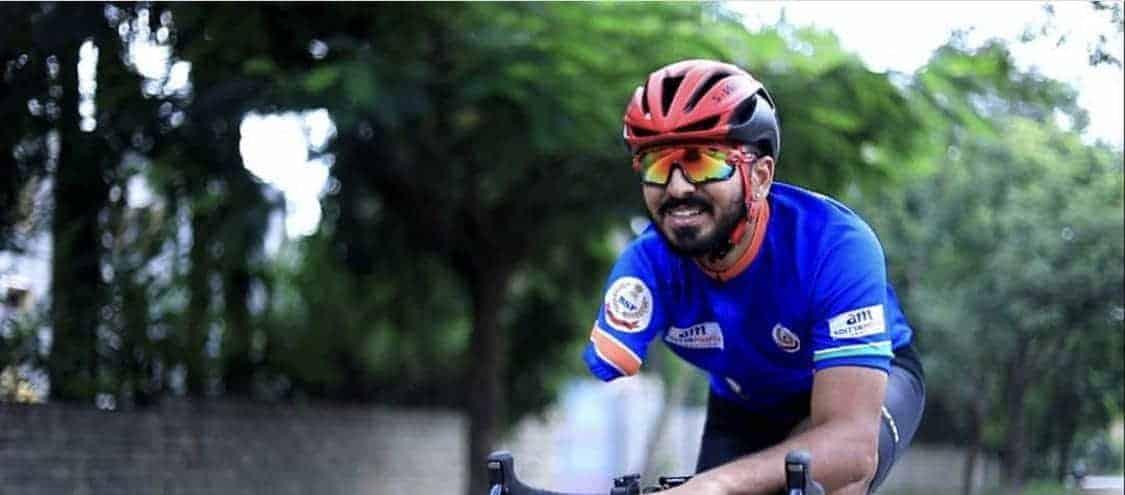 KIVU Heroes: Divij Shah, Asian para-cycling champion