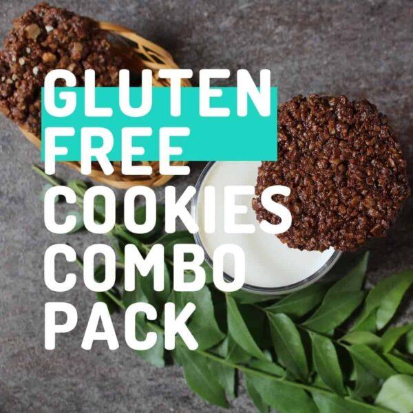Kivu Gluten Free Cookies Combo Pack