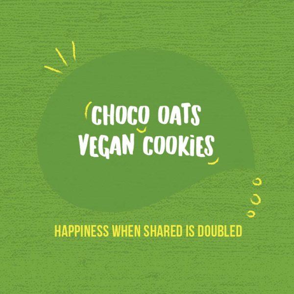 Kivu Choco Oats Vegan Cookies