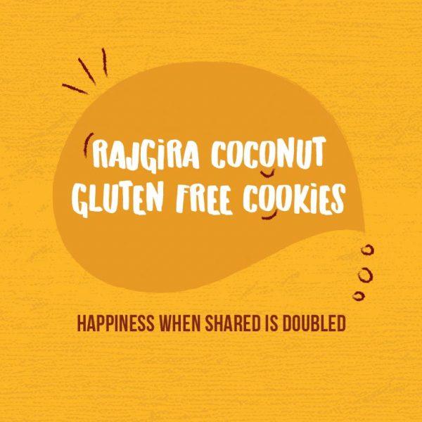 Kivu Rajgira Gluten Free Cookies